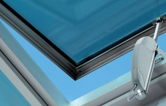 An electronic window controller produced by Teal Products - image courtesy of Teal Products