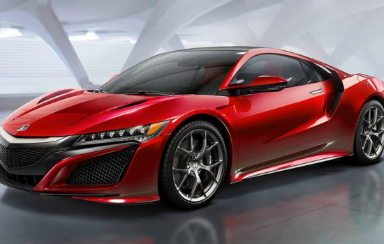 A smaller more affordable version of the upcoming 2016 Honda NSX is reportedly in the works - image courtesy of Honda.