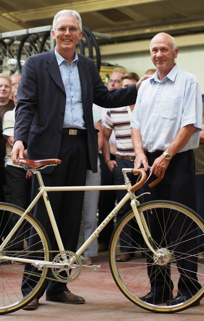 Pashley Cycles - Adrian Williams and John Kerby