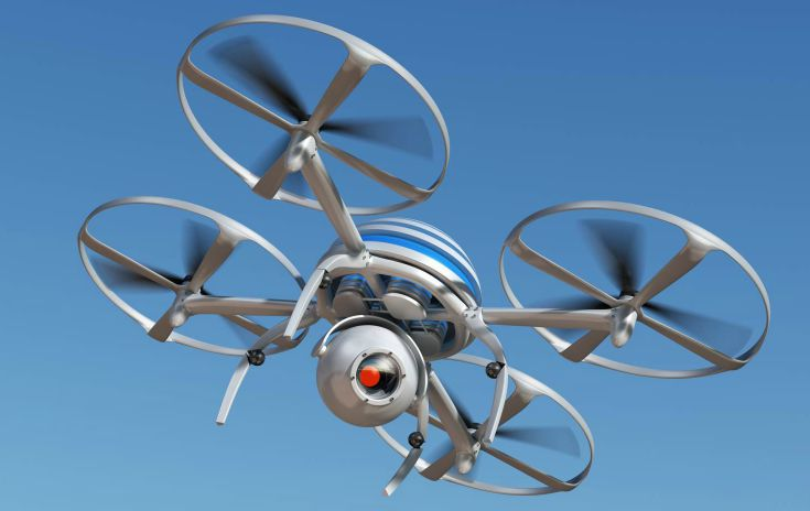 Drone -remotely piloted aircraft (RPA)
