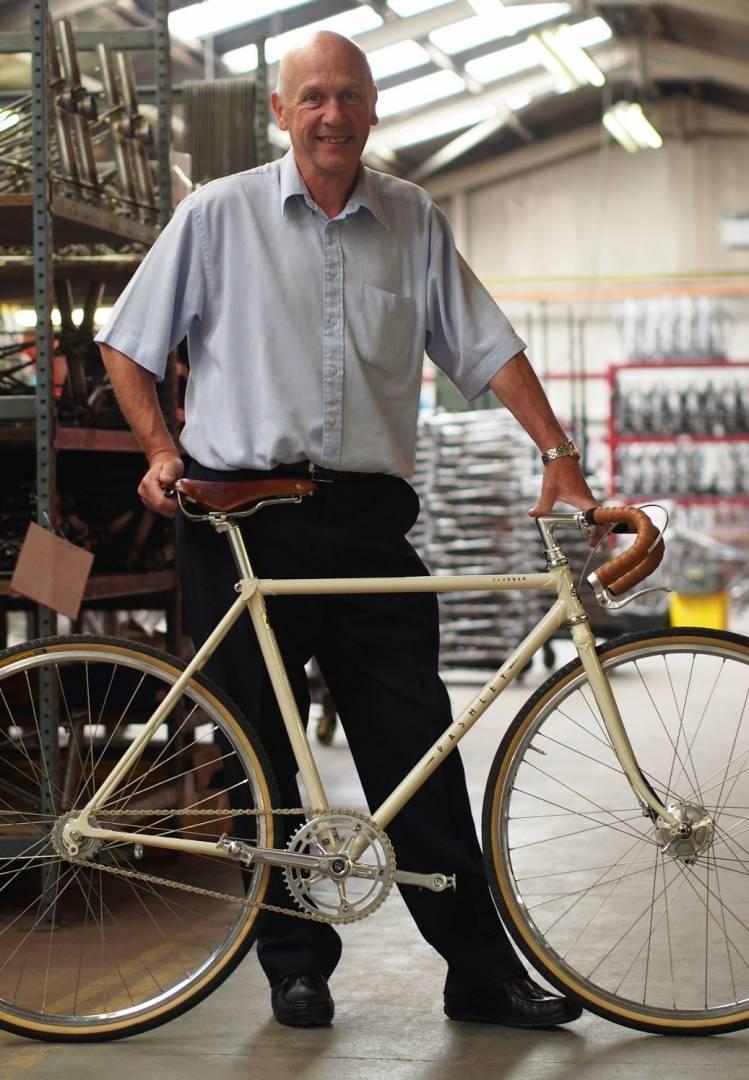 Pashley Cycles' John Kerby.