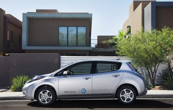 The 2011 Nissan Leaf, subject to a class action lawsuit. Image courtesy of Nissan.