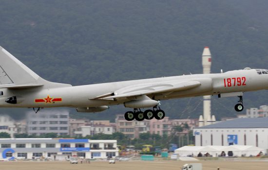 The Chinese have existing bombers such as the Xian H-6 which is a license-built version of the Soviet TupPLAAF by Li Pang. Licensed under CC BY-SA 3.0 via Wikimedia Commons