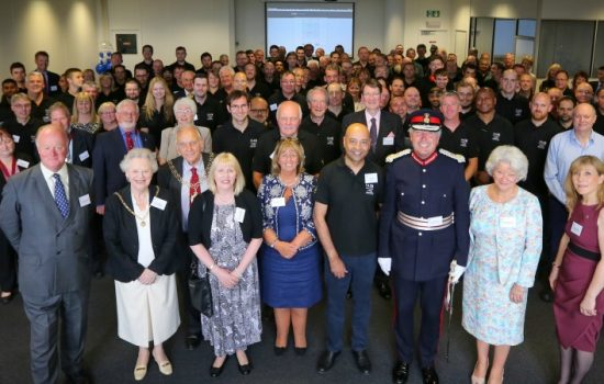 A host of manufacturing organisations and senior business figures celebrated with T A Savery & Co.