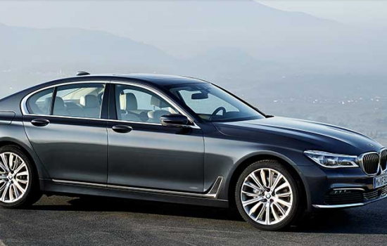 The sixth generation BMW 7 series sedan - image courtesy of BMW