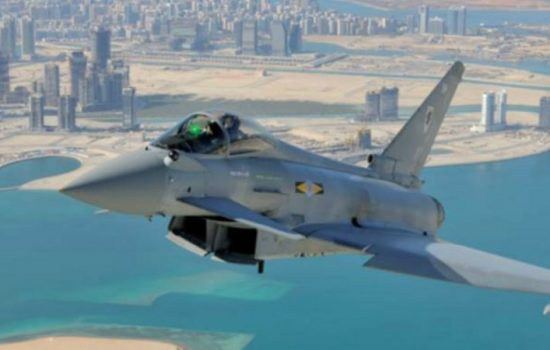 BAE Systems Typhoon over UAE