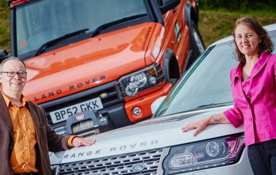 Michael Mychajluk, Jaguar Land Rover with Amanda Digne-Malcolm, ICAEW Members' Director.