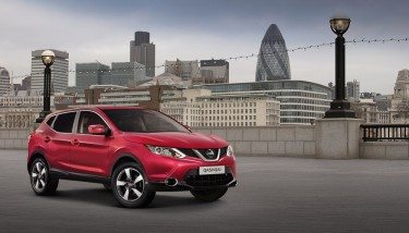A Nissan Qashqai, one of the company's European success stories. Image courtesy of Nissan.