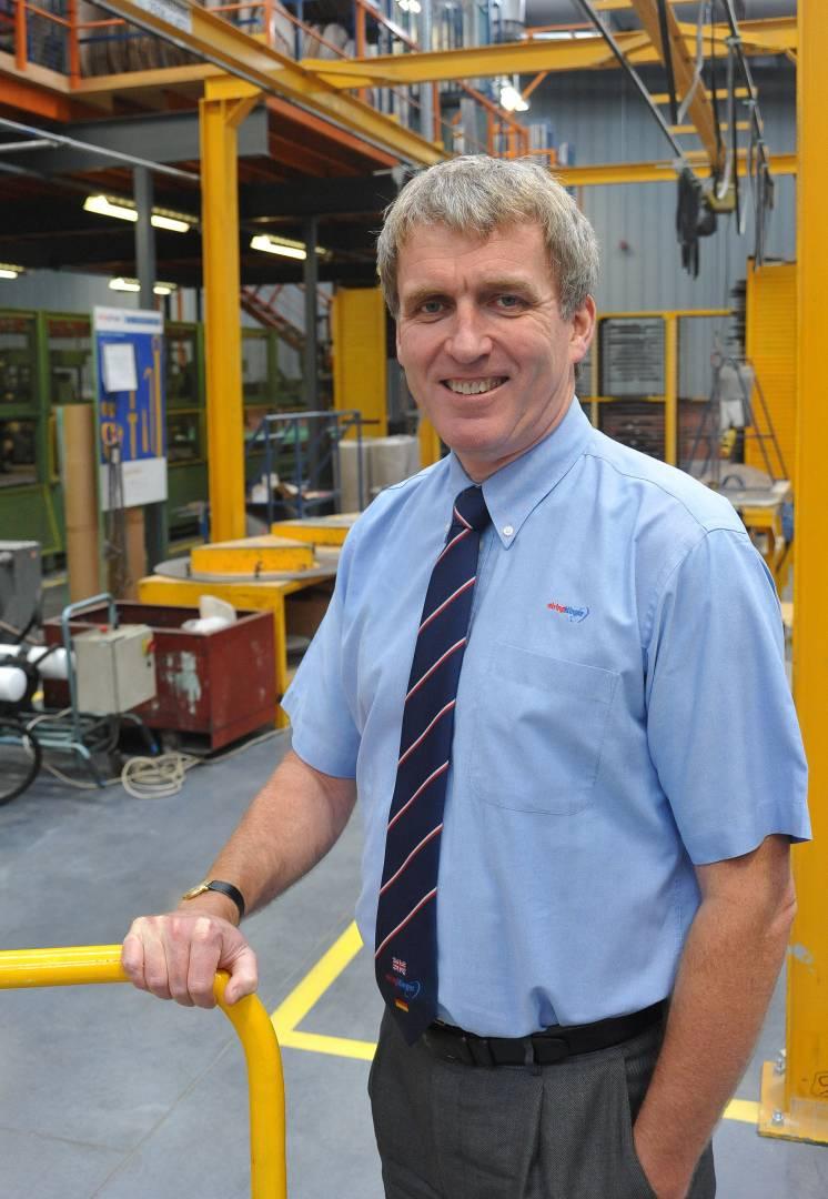 Ian Malcolm, managing director, ElringKlinger (GB).