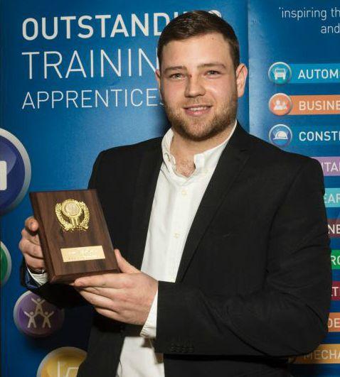 Nick Lacey, engineering apprentice, Burton's Biscuit Company
