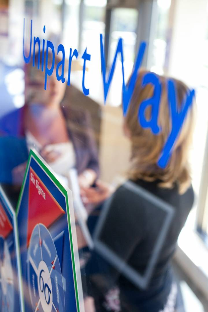 The Unipart Value Set has been in place since 1987, forming the basis of our culture and is reflected in The Unipart Way
