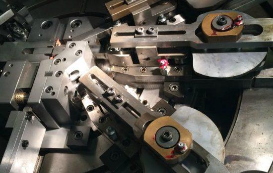Samuel Taylor Limited's (STL) new multislide press.