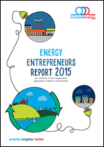 Energy Entrepreneurs Report 2015 compiled by SmartestEnergy.