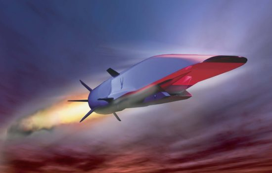 DARPA's X 51 hypersonic test vehicle. Image courtesy of Wikipedia Commons.