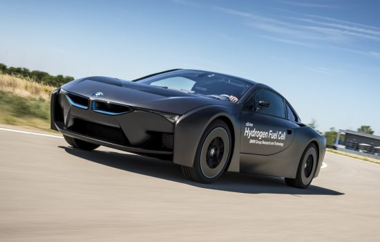 BMW's new demonstrator fuel cell electric vehicle. Image courtesy of BMW.