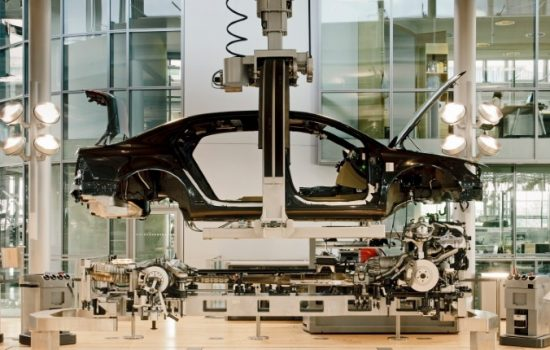 Volkswagen factories make heavy use of automation. Image courtesy of Volkwagen.