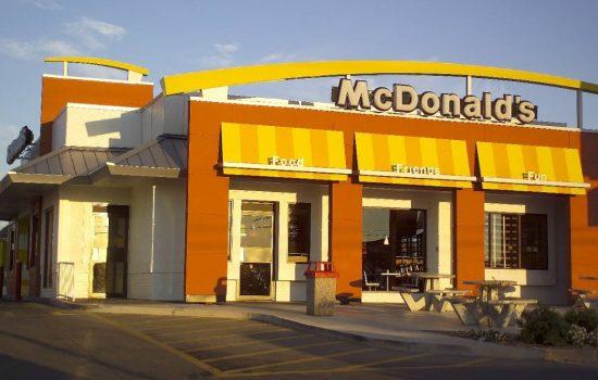 A McDonalds US restaurant - image courtesy of McDonalds