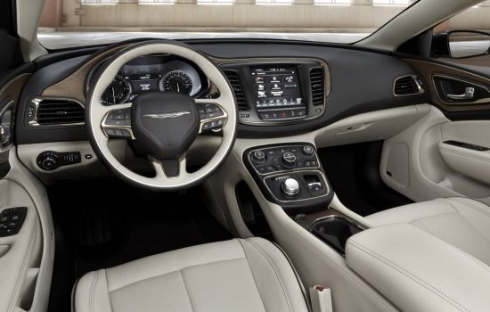 The radio system of a Chrysler 200 vehicle. Image courtesy of Fiat Chrysler.