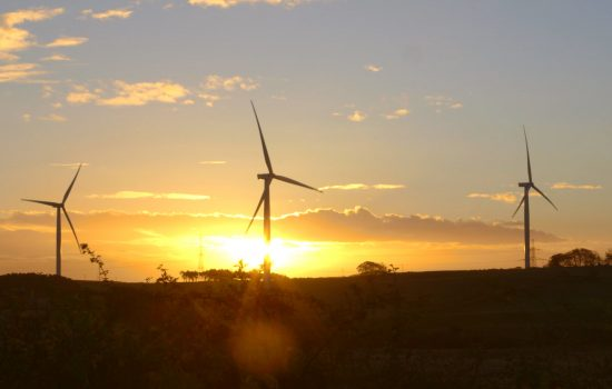 GE's Little Raith Wind Farm in Fife, Scotland