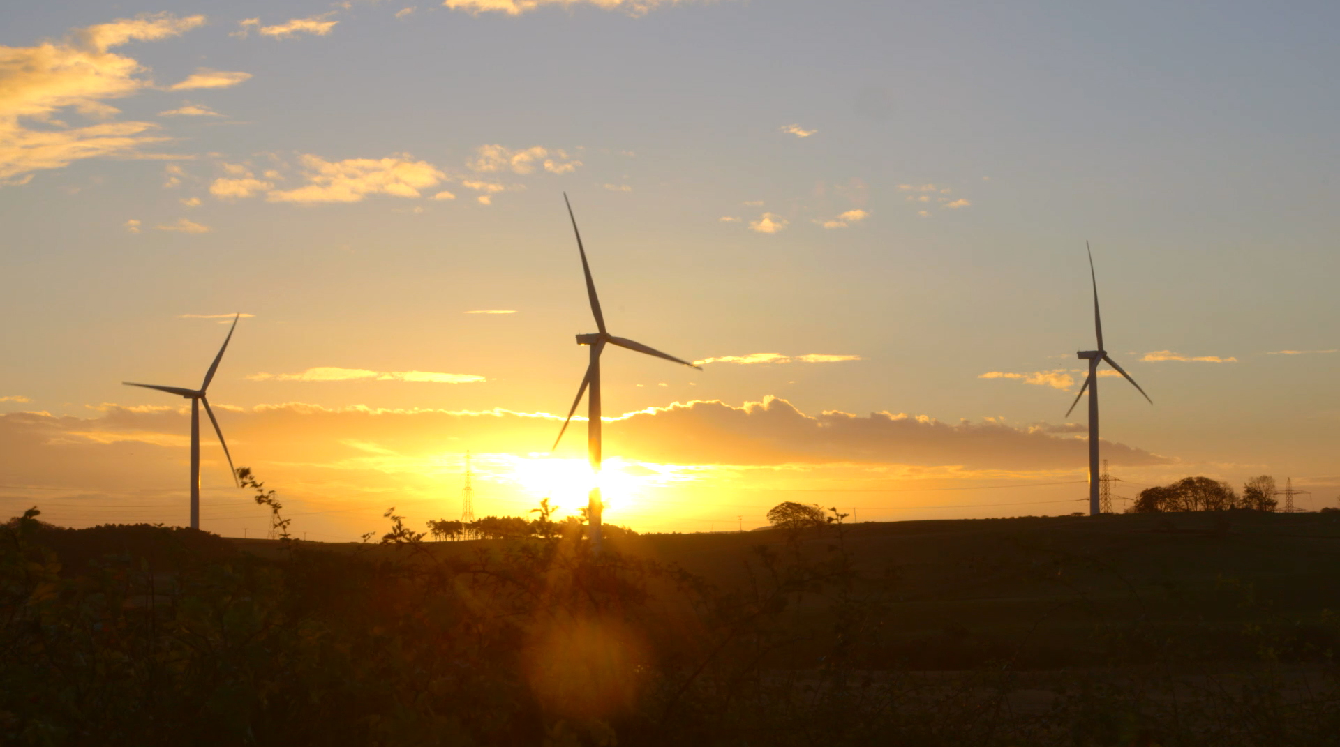 GE's Little Raith Wind Farm in Fife, Scotland