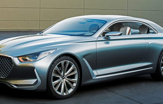 The Hyundai Vision G coupe concept - image courtesy of Hyundai.