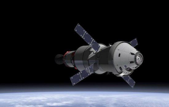Nasa's Orion spacecraft. Image courtesy of Nasa.