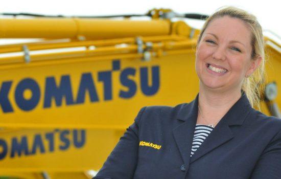 Kathryn Mullins, design engineer and STEM ambassador, Komatsu UK