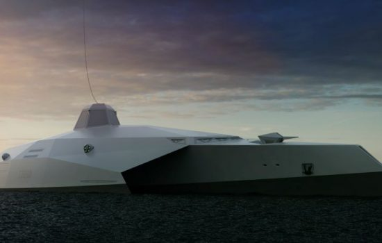 Startpoint Dreadnought T2050 Warship Front View (image courtesy of Startpoint).