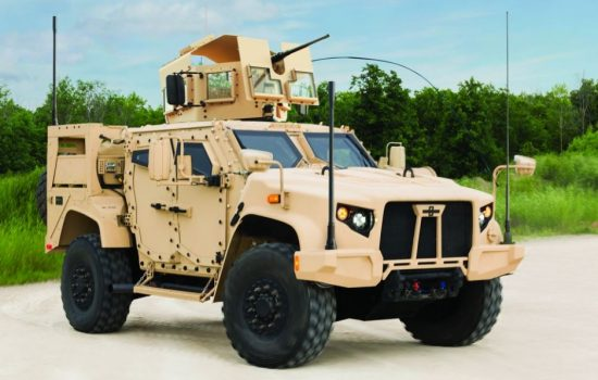The Oshkosh JLTV, winner of the US Army design competition. Image courtesy of Wikipedia Commons.