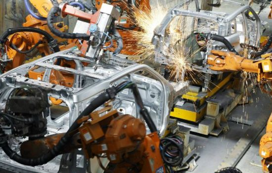 Jaguar Land Rover vehicles in production - industrial strategy