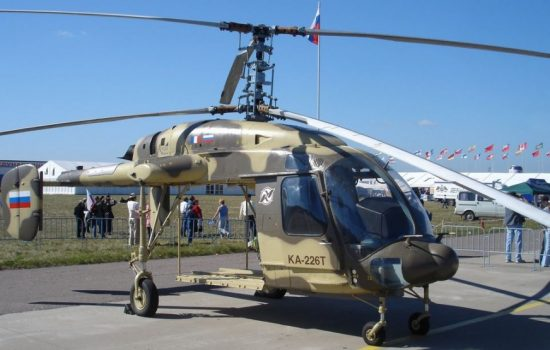 A Russian Kamov Ka-226 helicopter. Image courtesy of Wikipedia Commons.
