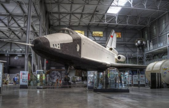 The Soviet Buran space plane. Image courtesy of Pedro Albuquerque