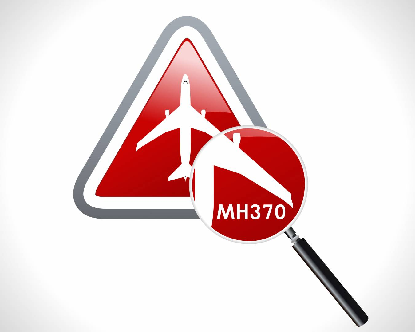 MH370 stock image
