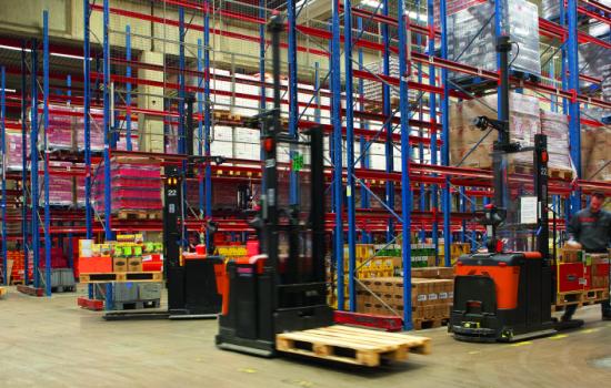 Toyota Material Handling UK BT Autopilot in Warehouse