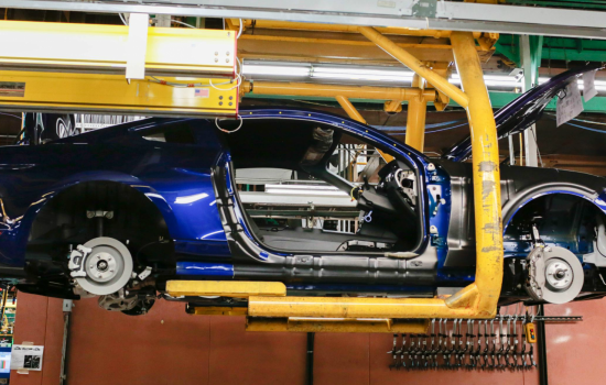 The first UK Ford Mustang customer deliveries are expected from November.
