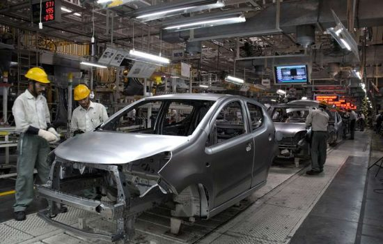 A Maruti Suzuki manufacturing facility in India. Image courtesy of Maruti Suzuki.