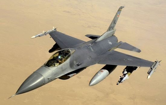 Heico will now become a major OEM supplier for the F-16 jet. Image courtesy of Wikipedia Commons