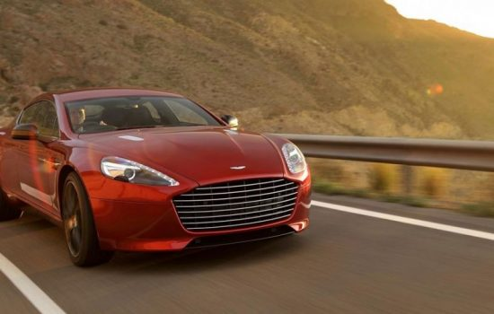 An Aston Martin Rapide S. Image courtesy of Aston Martin.