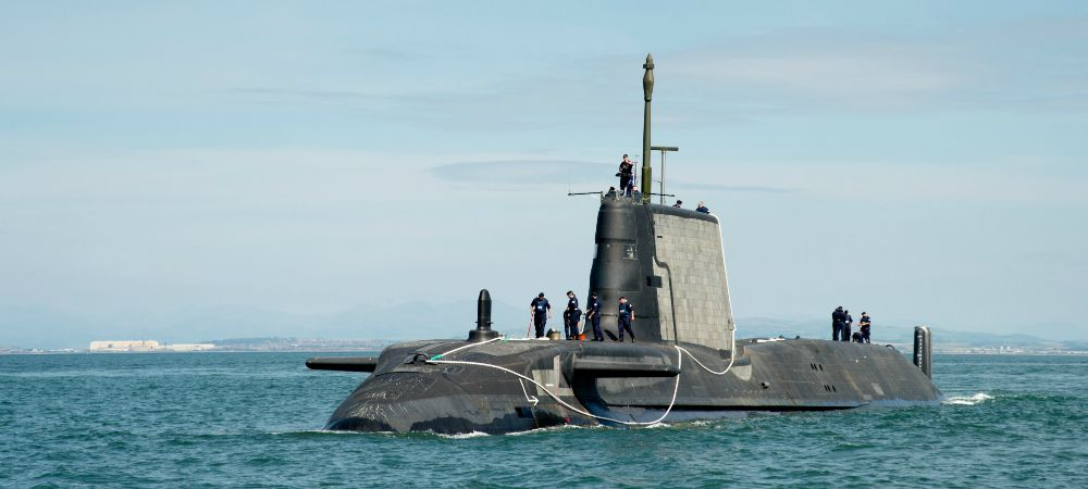 Artful is the third Astute class submarine to have been built by BAE Systems.