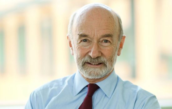 Professor Sir Mike Gregory, head of the Cambridge Institute of Manufacturing