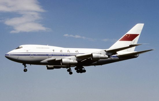 A Boeing jet operated by a Chinese airline. Image courtesy of FotoNoir