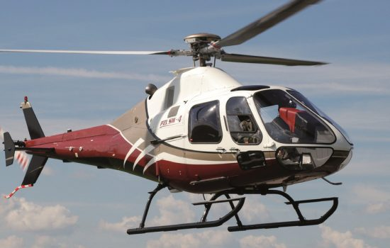 The original PZL SW-4 AgustaWestland helicopter on which the unmanned variant is based - image courtesy of AgustaWestland