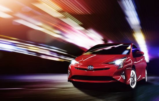 The 2016 Toyota Hybrid Prius. Image courtesy of Toyota