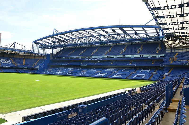 Chelsea Football Club - Stamford Bridge (image courtesy of  Lachlan Fearnley)