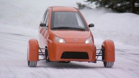 The Elio Motors three-wheel model is expected to be released in the fourth quarter of 2016 - Image courtesy of Elio Motors.