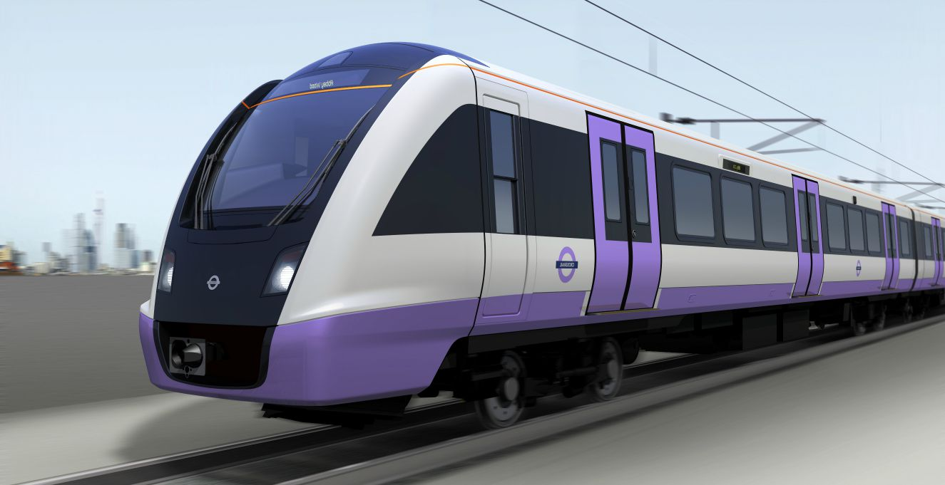Bombardier Aventra, which will be running on Crossrail