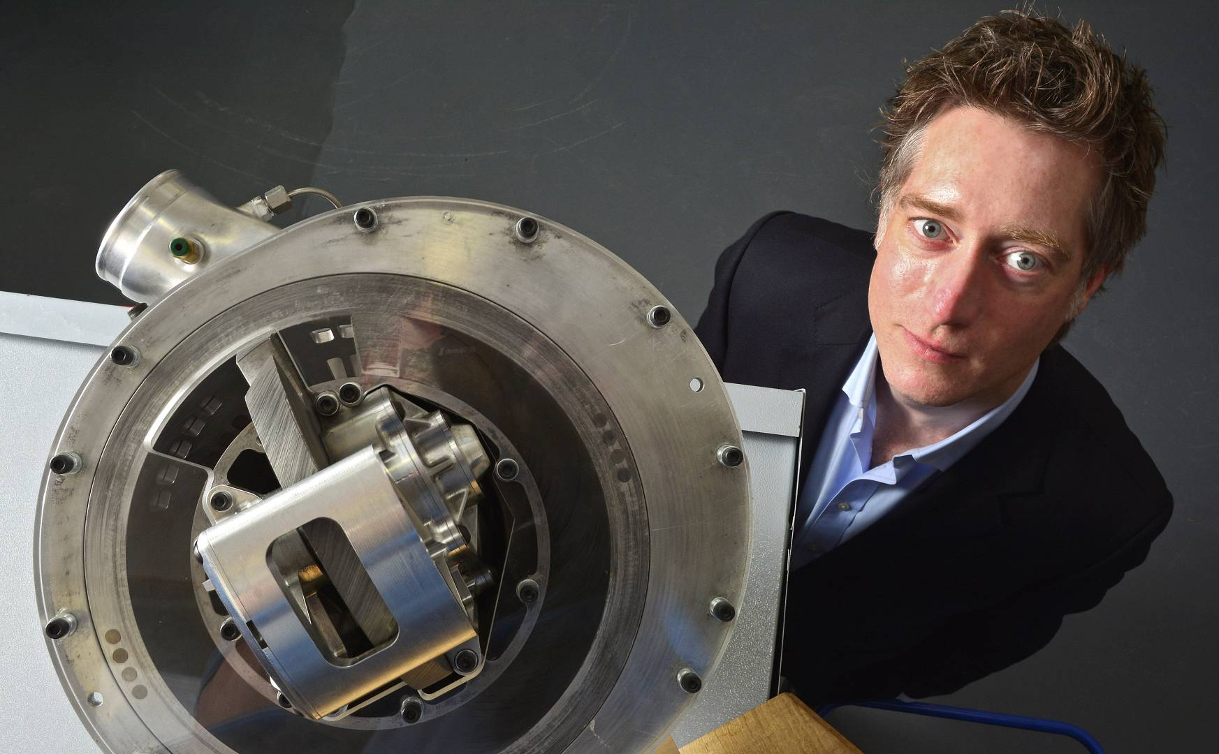 Steve Lindsey, founder, CEO and designer of the Blade Compressor, Lontra.