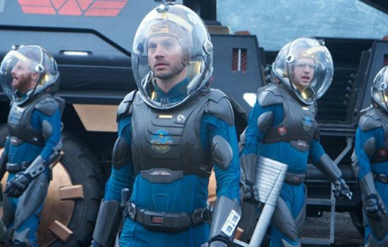 CMA produced helmets for Ridley Scott's film, Prometheus (image courtesy of CMA Moldform).