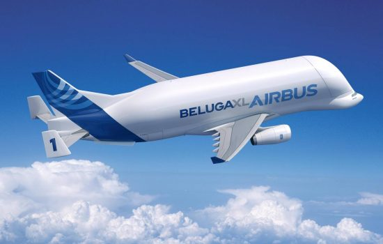 A rendering of the Airbus Beluga XL. Image courtesy of Airbus