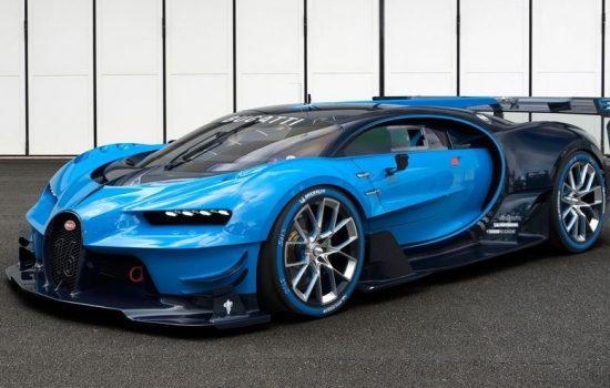 The Bugatti Gran Turismo Vision was unveiled at the 2015 Frankfurt Motor Show - image courtesy of Bugatti.